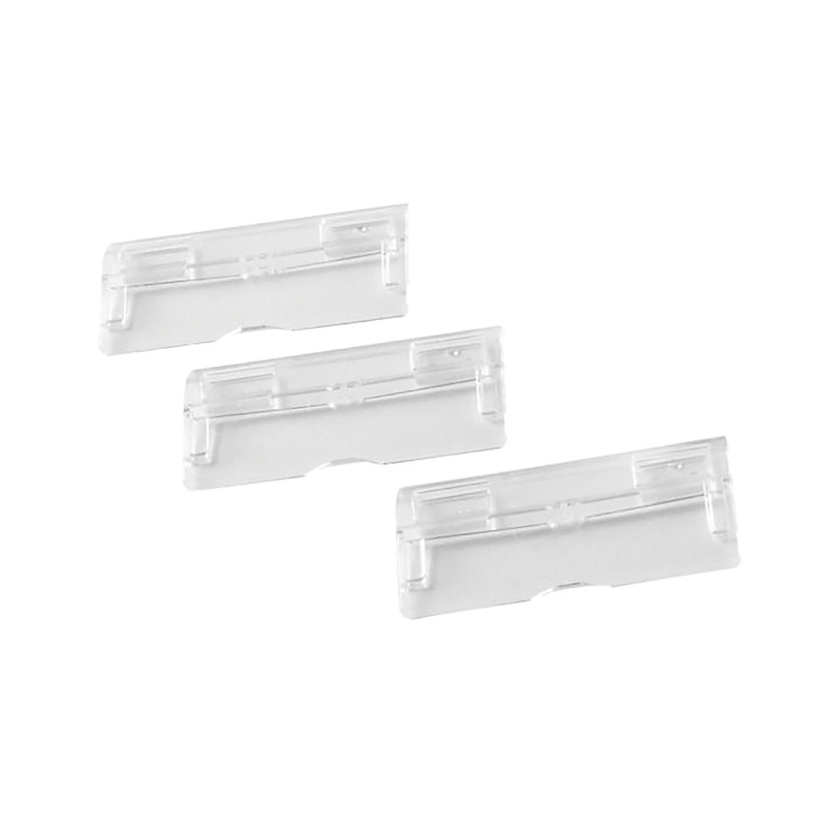 Rexel Multifile Suspension File Plastic Tabs Clear Ref 78400 [Pack 50]