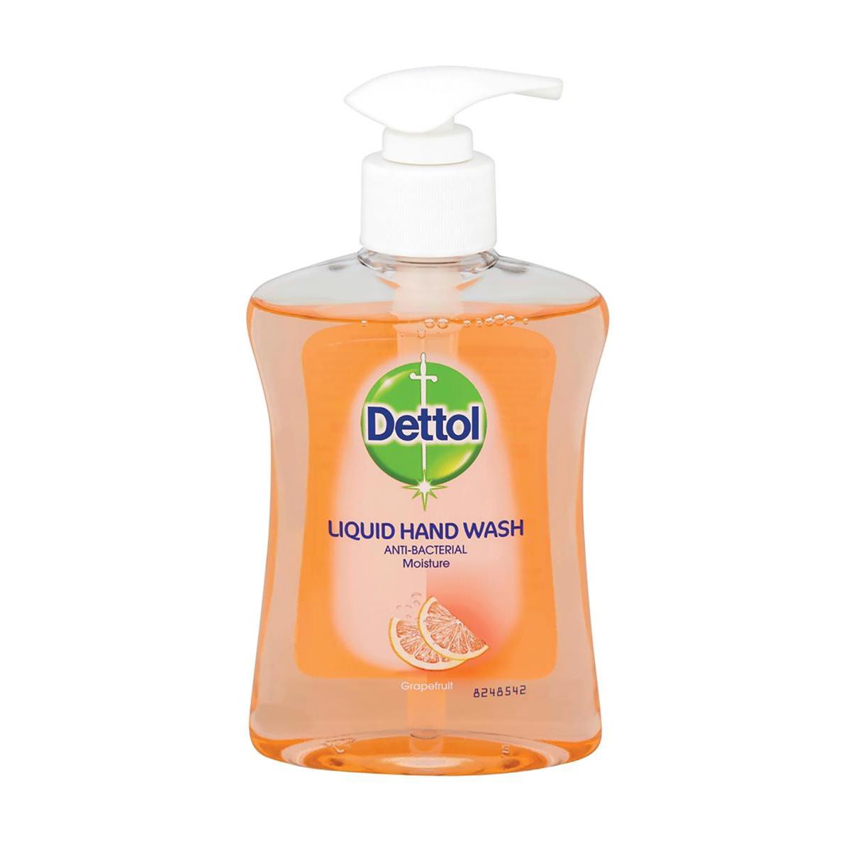 Dettol Handsoap Antibacterial Moistening Grapefruit 250ml Ref 8071864
