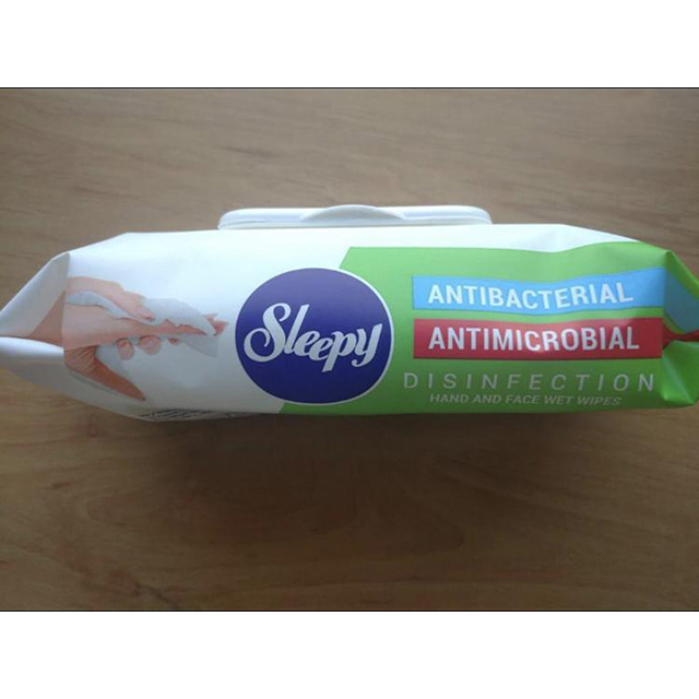 Sleepy Antibacterial Wipes Alcohol Free Antimicrobial, Disinfection PK100 Wipes