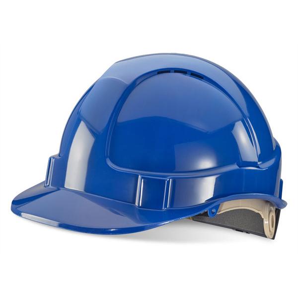 Blue Wheel Ratchet Headgear - B-Brand Safety Helmet
