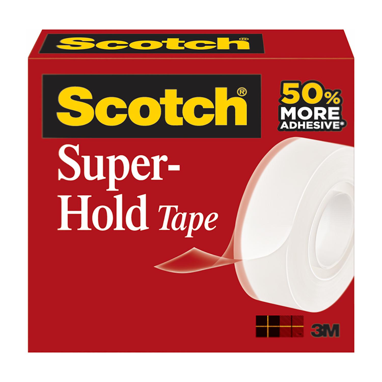 Scotch Super-hold Tape Single Roll Clear Ref 700K-EU