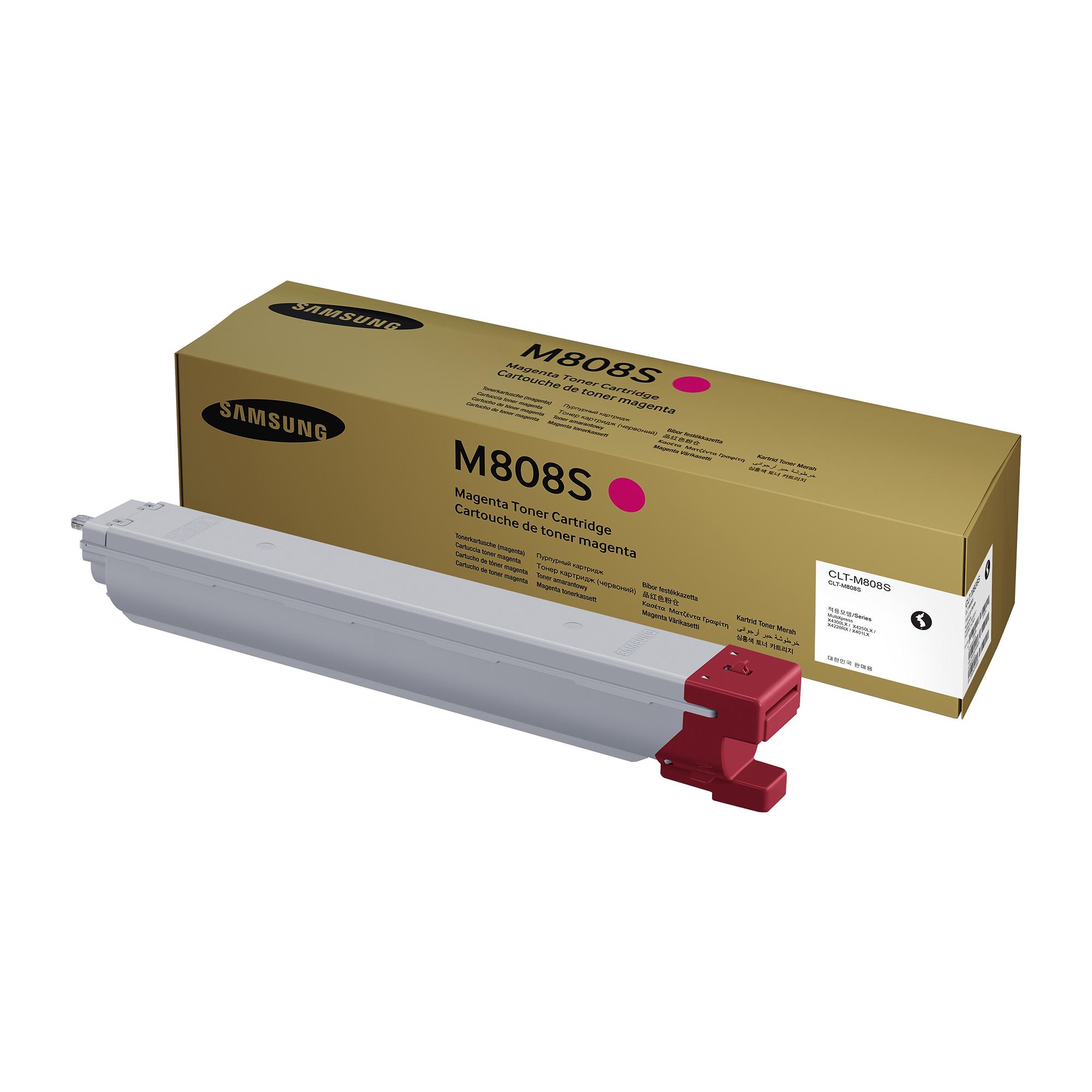 Samsung CLT-M808S Laser Toner Cartridge Page Life 20000pp Magenta Ref SS642A