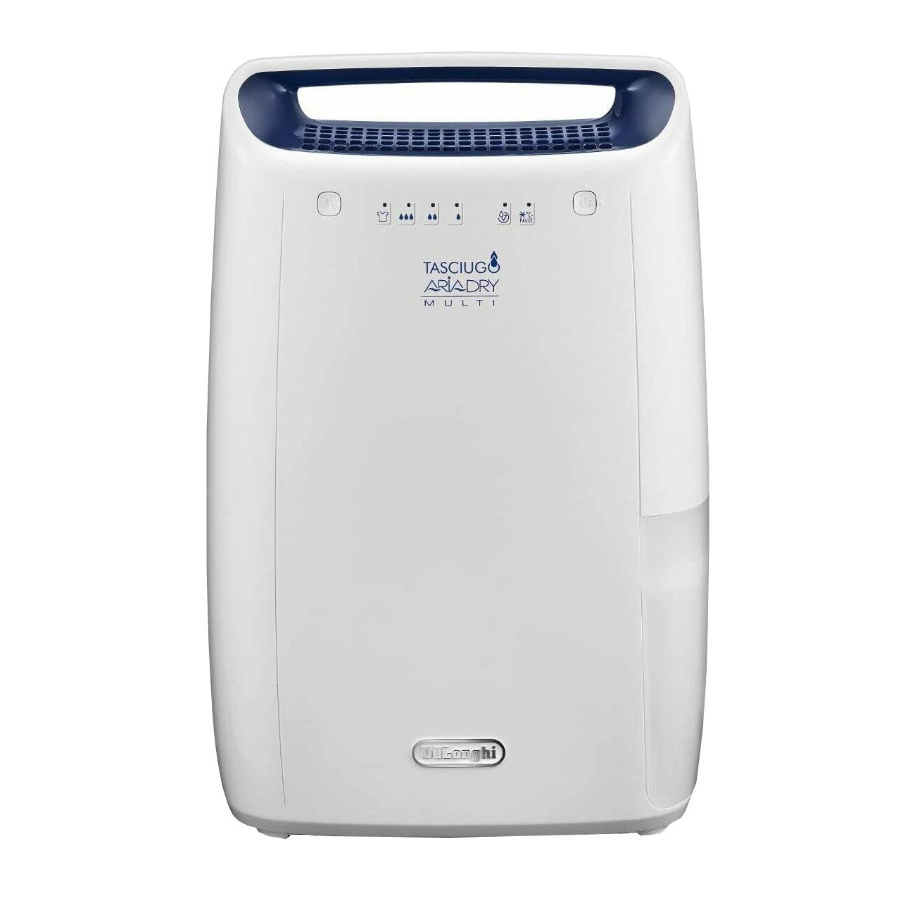 Delonghi Tasciugo Aria Dry Multi Dehumidifier 12 Litre Capacity Ref DEX212F