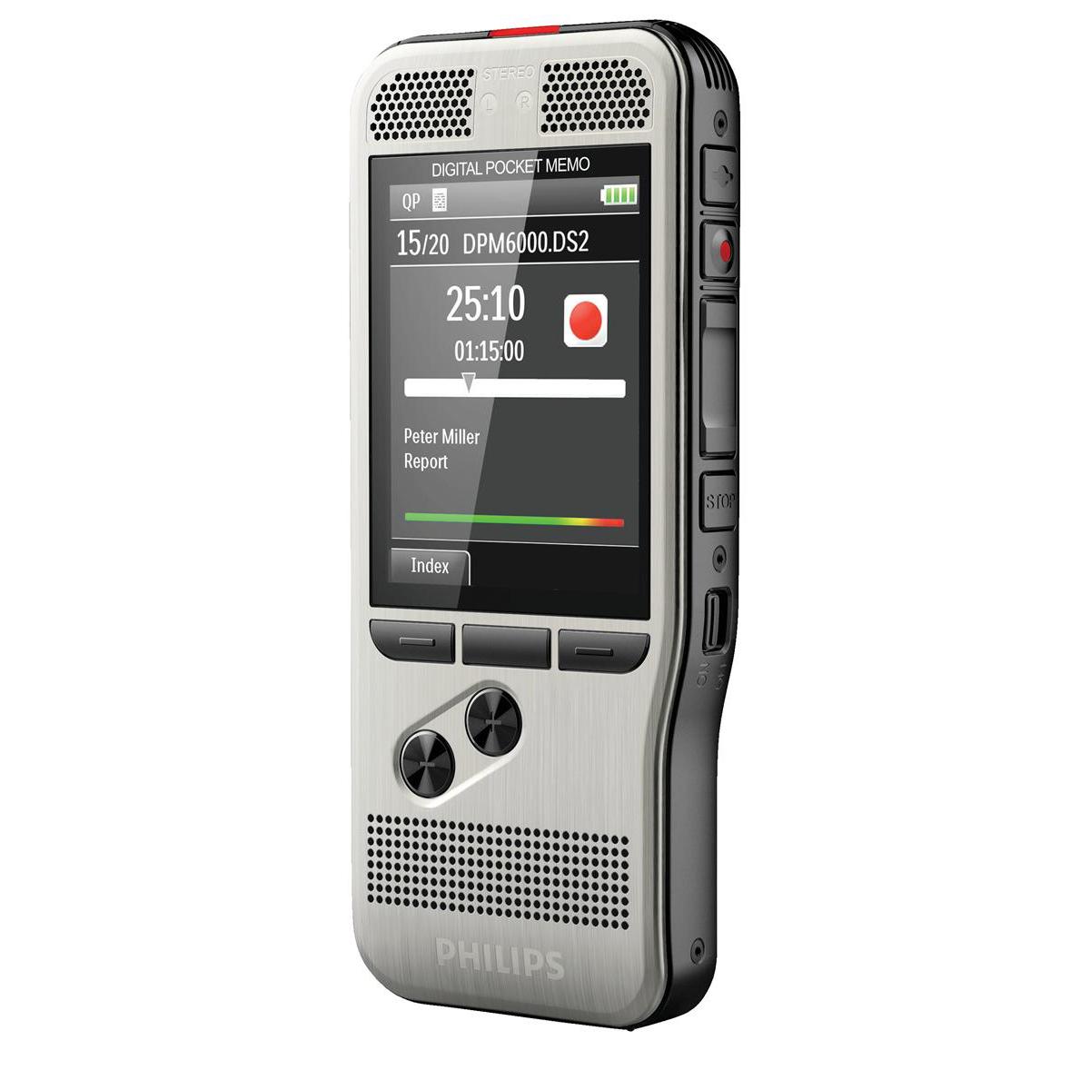 Philips DPM 6000 Dictation Recorder Ref DPM6000/02