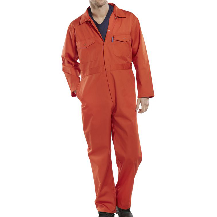 Poly-Cotton Workwear - Click Pc B/Suit Orange 36