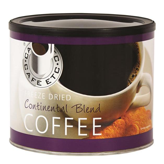 Cafe Etc Continental Blend Coffee 500g Ref ETC 026