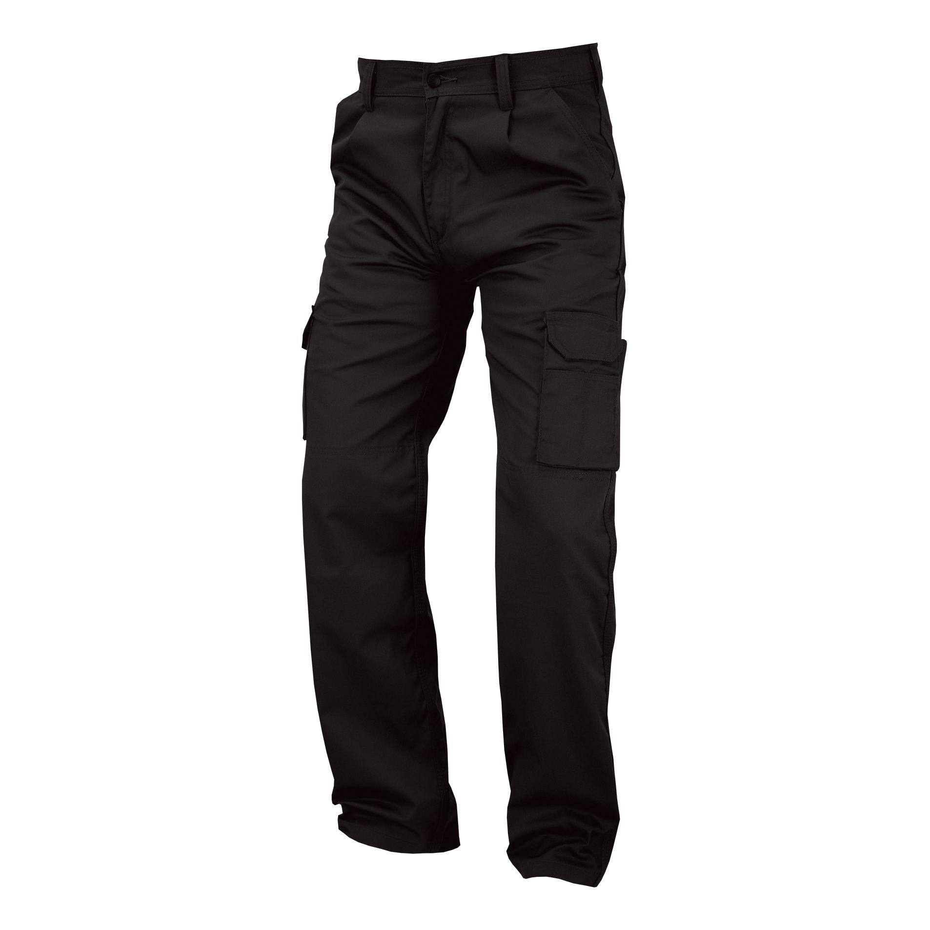 Poly-Cotton Workwear - Super Click Pc Trs Black 44