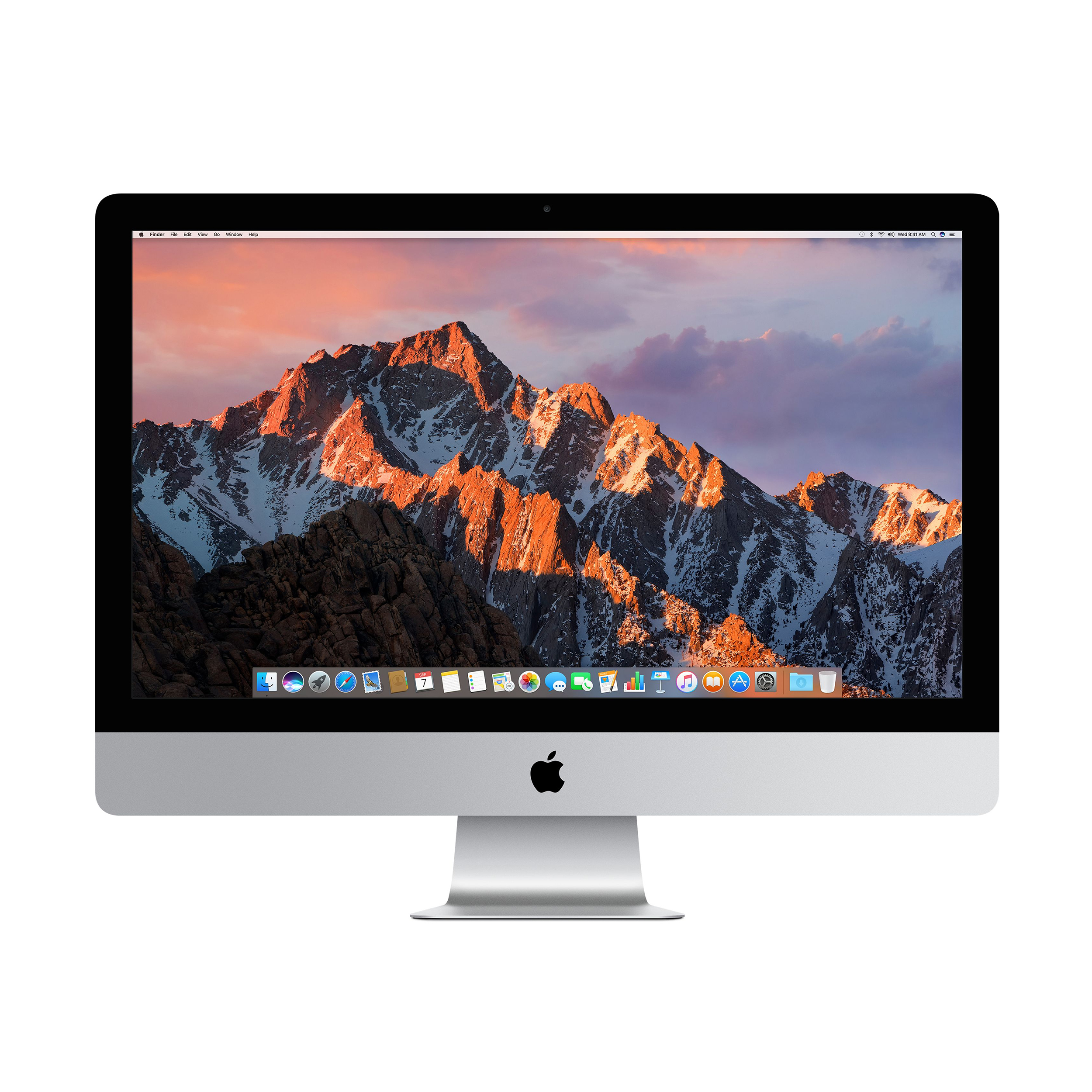 Image for Apple iMac 21.5inch 8th Generation MacOS 4K Display i5 Processor 8GB Ref MRT42B/A