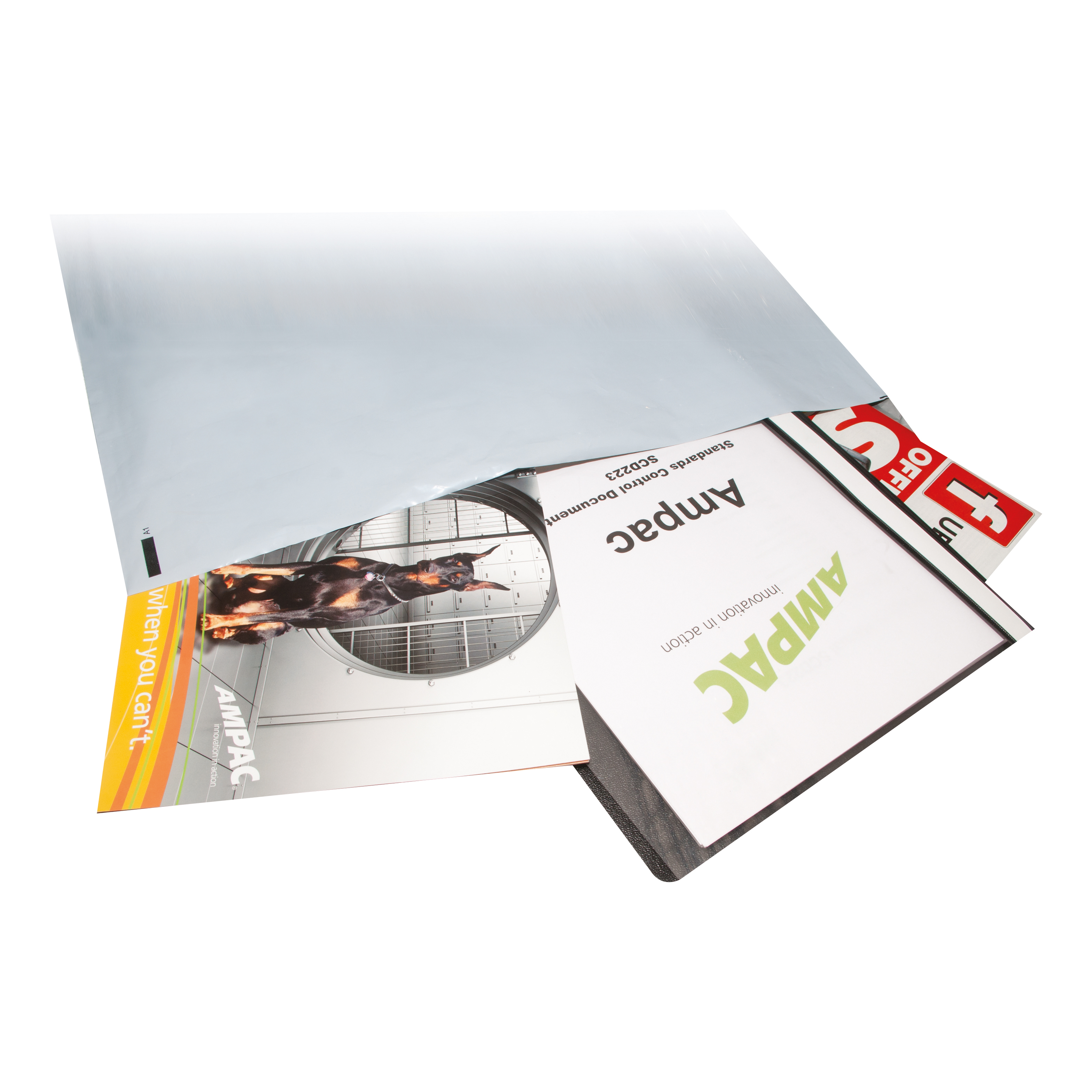 Keepsafe Envelope Extra Strong Polythene Opaque DX W400xH430mm Peel & Seal Ref KSV-MO5 [Box 100]