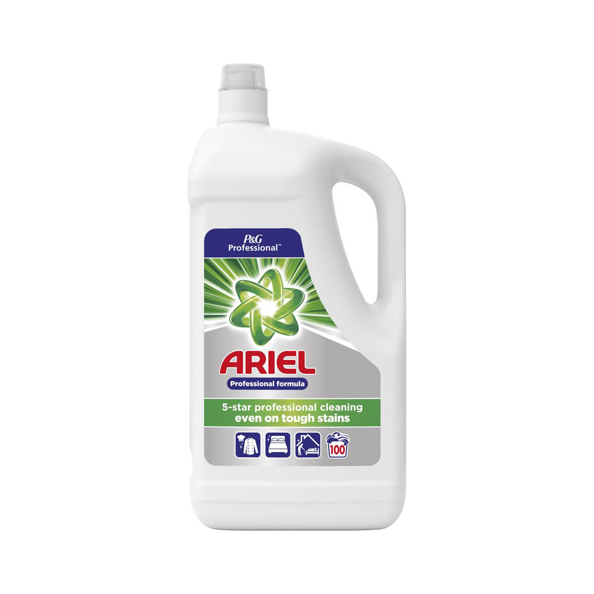 Image for Ariel Professional Liquid Wash 100 Washes 5 Litre Ref 73402