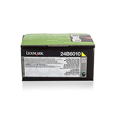 Lexmark Laser Toner Cartridge Page Life 3000pp Yellow Ref 24B6010