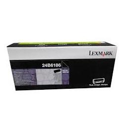 Lexmark Laser Toner Cartridge Page Life 16000pp Black Ref 24B6186