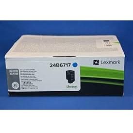 Lexmark XC4150 Laser Toner Cartridge Page Life 13000pp Cyan Ref 24B6717