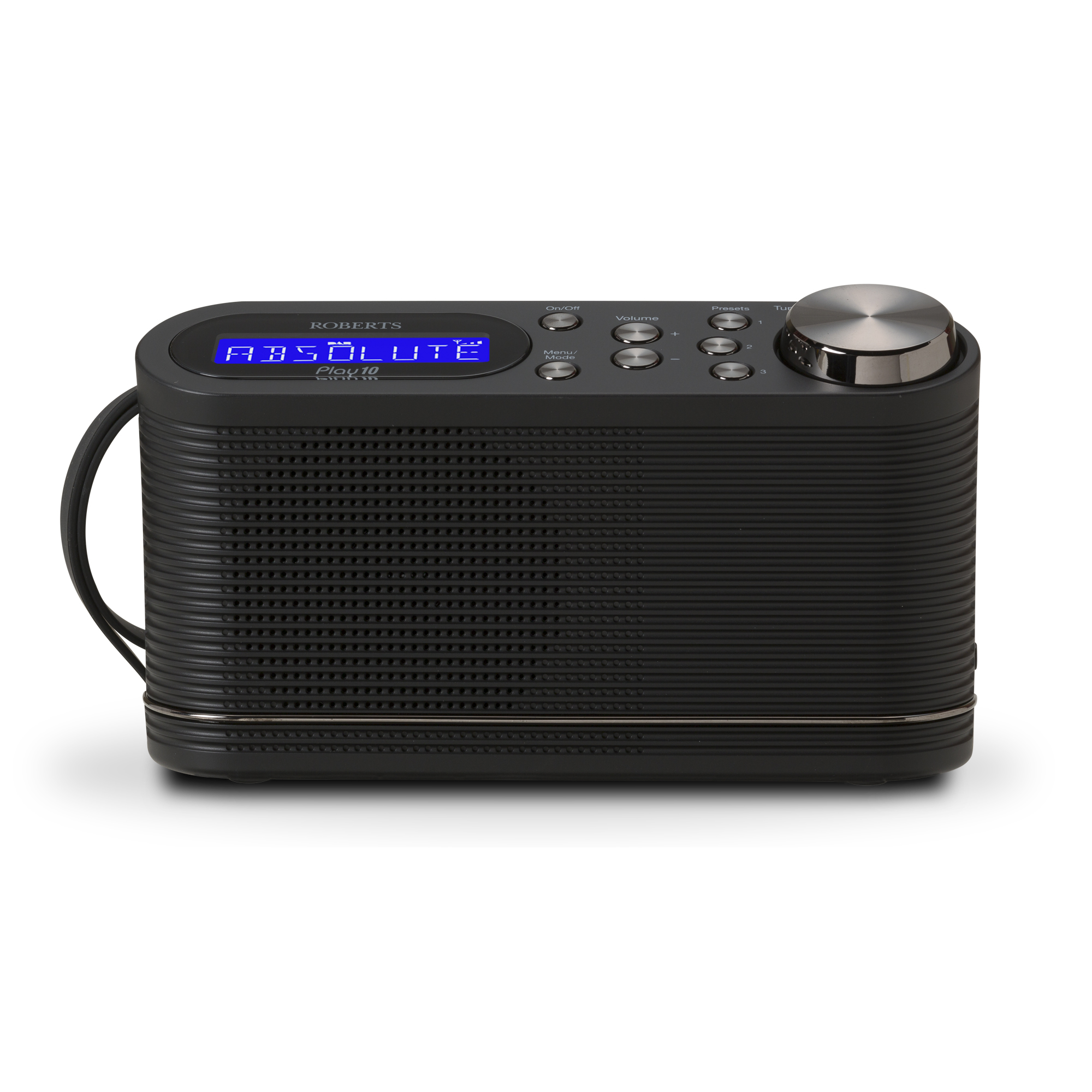 Roberts PLAY 10 DAB Digital Radio 6 Station Presets Ref PLAY10