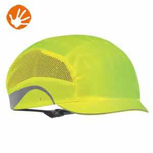 JSP HardCap AeroLite Protective Cap HDPE Shell Odour Control Yellow Ref AAG000-001-5G1