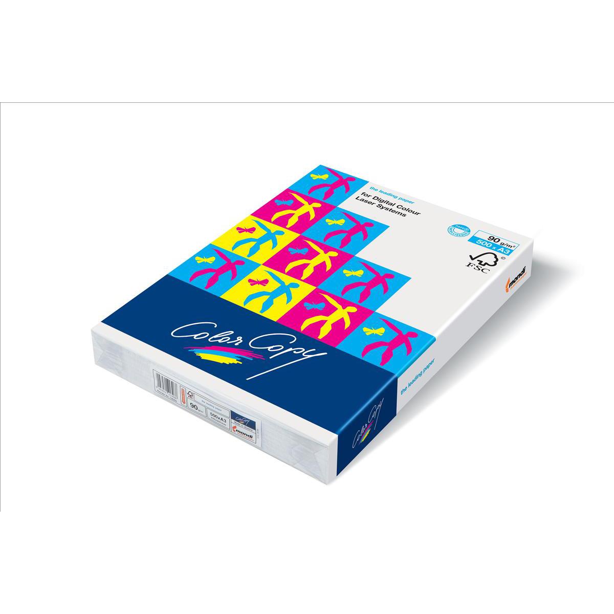Color Copy Card Premium Super Smooth White A3 160gsm FSC Ref 56267 [250 Sheets]