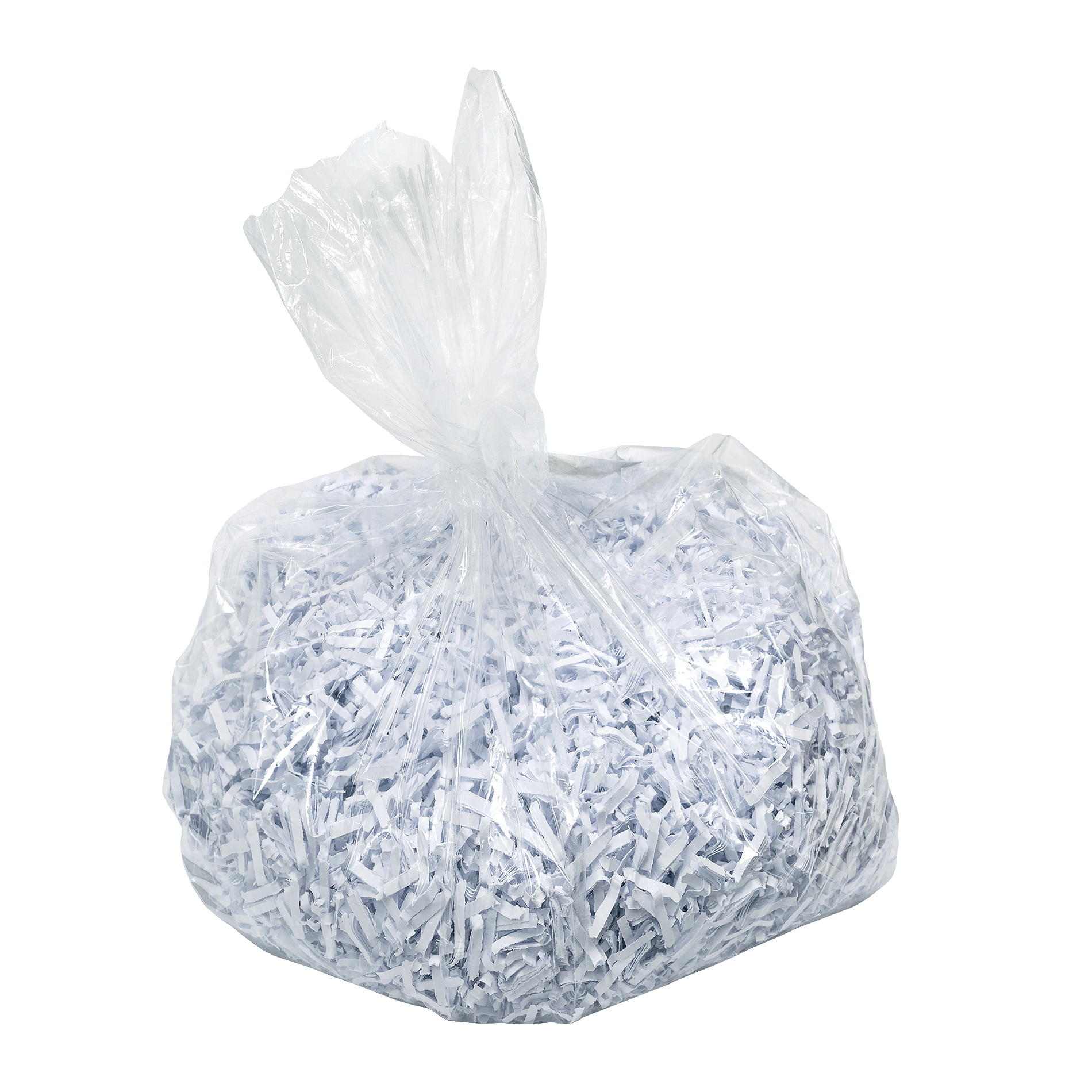 Image for Leitz Waste Bag for IQ Shredder 40 Litre Ref 80080000 [Pack 100]