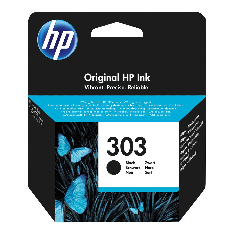 Hewlett Packard 303 Inkjet Cartridge Page Life 200pp 4ml Black Ref T6N02AE