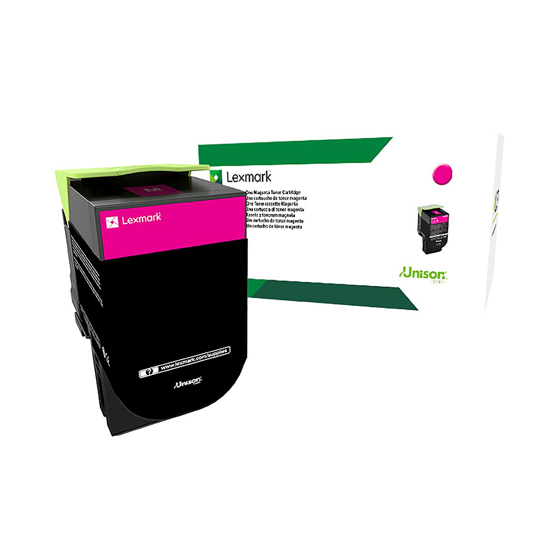 Lexmark CS/CX3Series Laser Toner Cartridge Return Program Page Life 2300pp Magenta Ref 71B20M0
