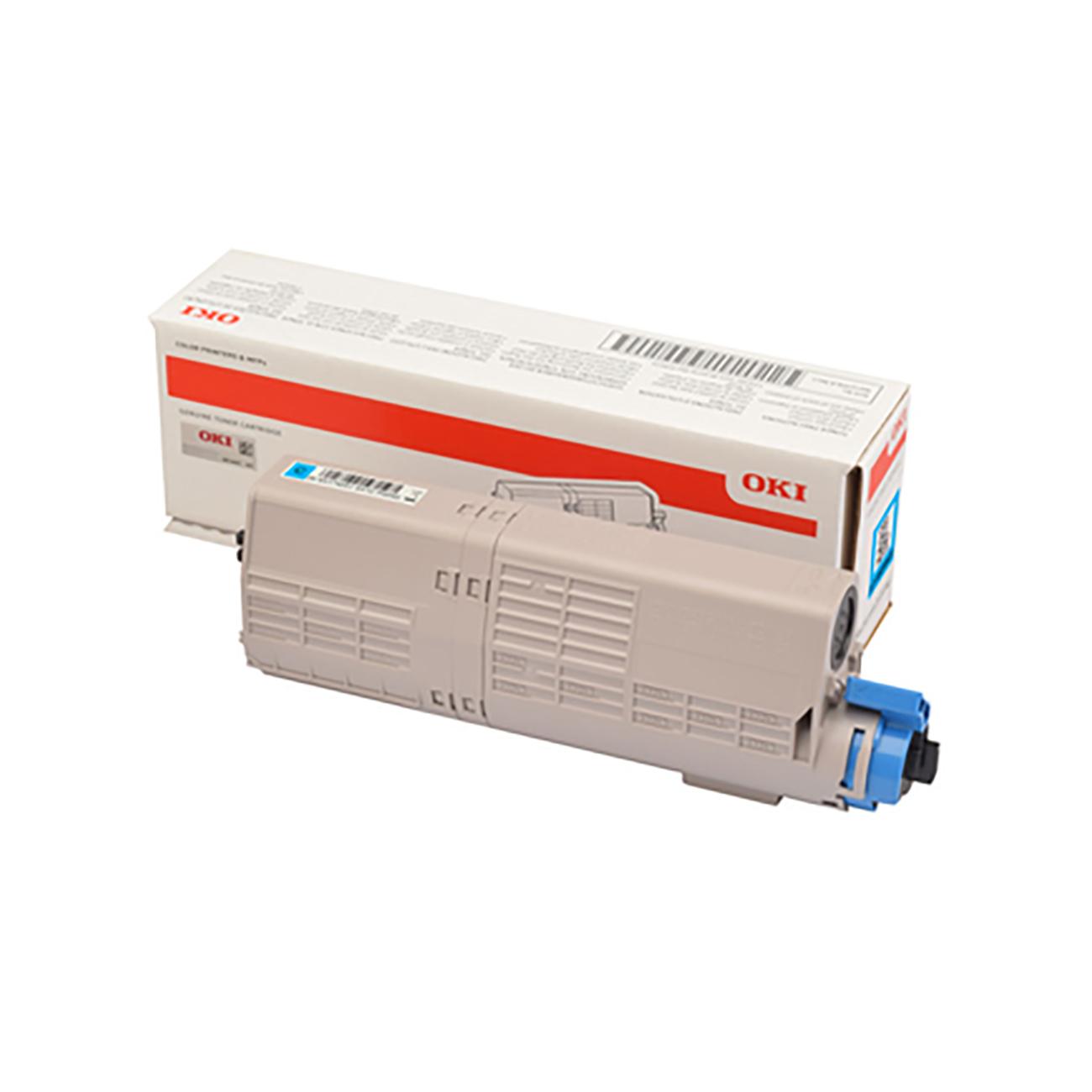 Oki C532/MC573 Laser Toner Cartridge Page Life 1500pp Cyan Ref 46490403