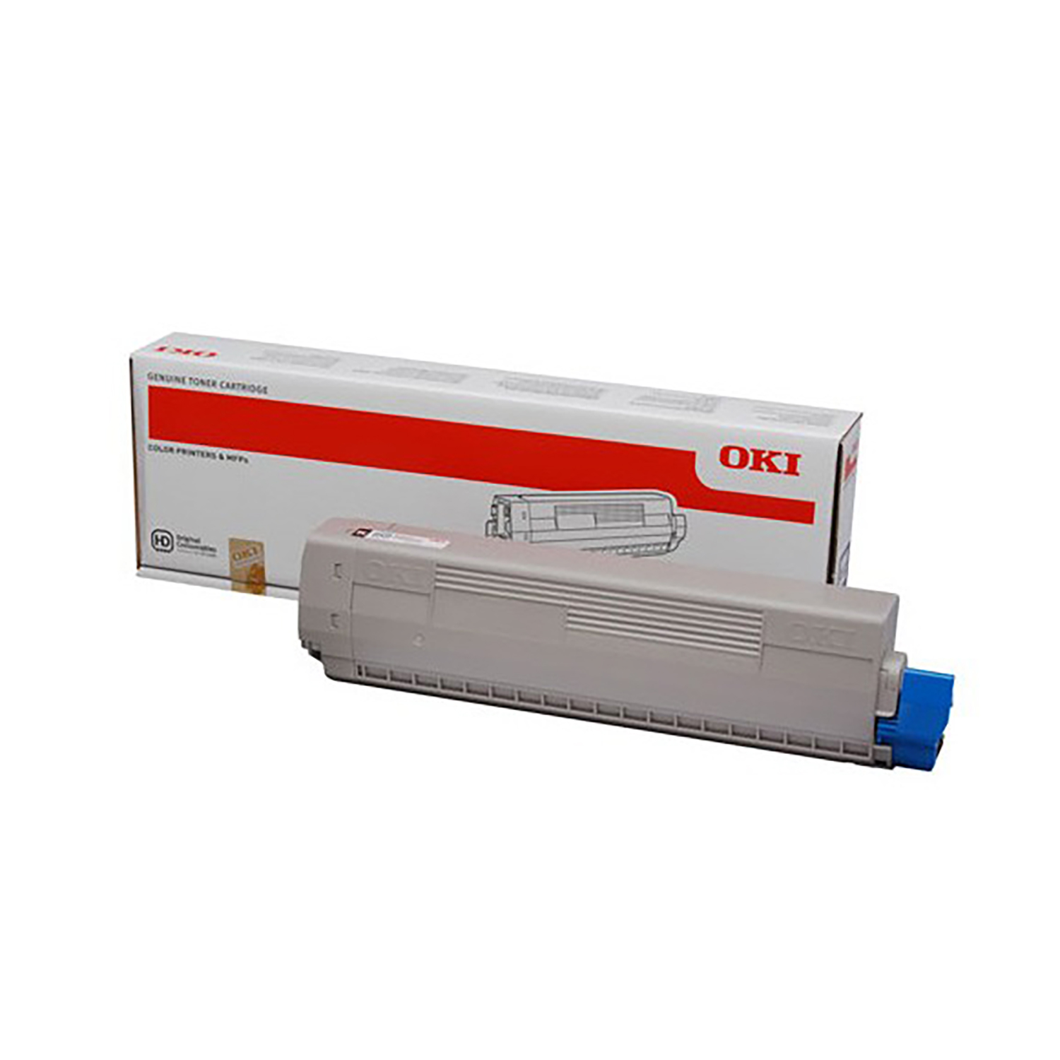 Oki C332/MC363 Laser Toner Cartridge High Yield Page Life 3000pp Cyan Ref 46508711